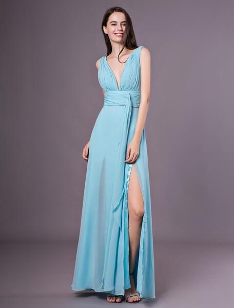 pastelowa suknia wieczorowa
