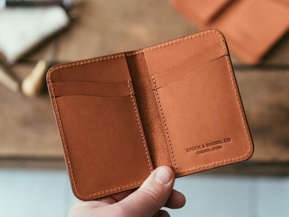 gdzie kupić cienki portfel męski slim szyty ręcznie