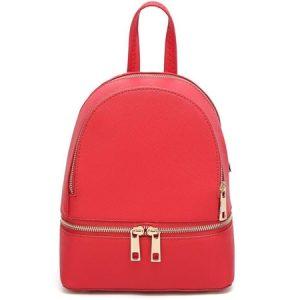 czerwony plecaczek damski do 100zl